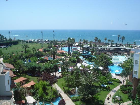 Limak Arcadia Golf & Sport Resort : vue sur la mer