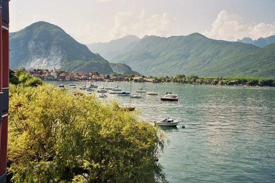 Baveno, Itália: Aussicht vom Balkon
