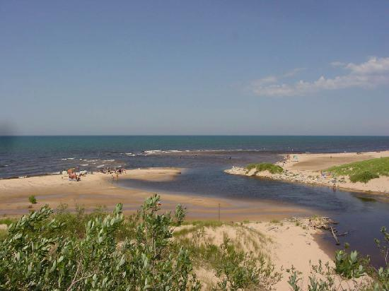 Bay At Lake Michigan Picture Of Ludington State Park