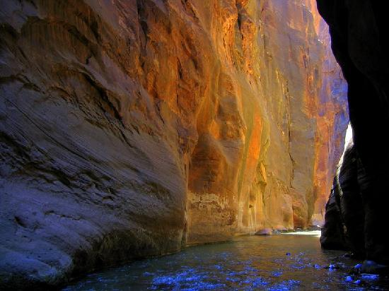Zion Lodge: Zion Narrows - stunning scenery