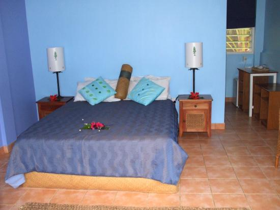 Tongan Beach Resort : Bedroom