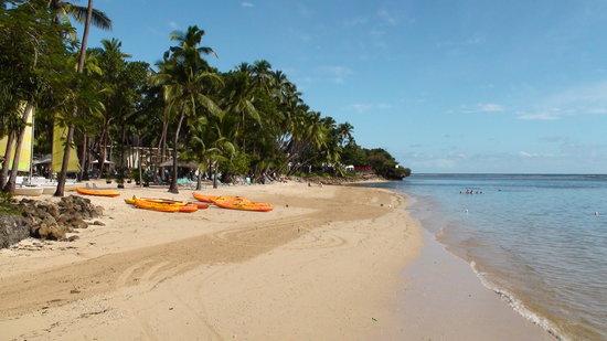 Yanuca Island, Fiji: Lagoon Beach