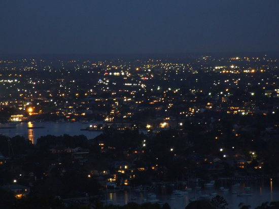 St Leonards, Australia: Evening view