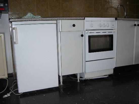 Apartamentos Koka: cocina