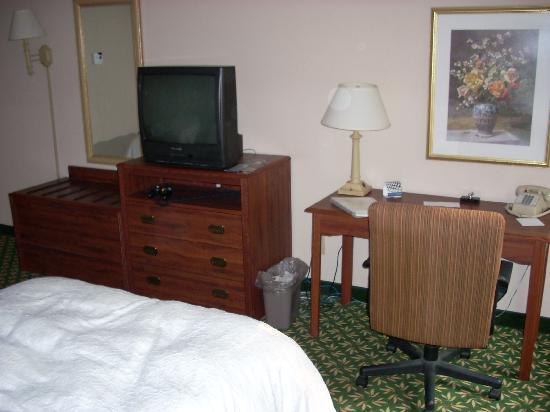 Hampton Inn Horse Cave: TV, desk