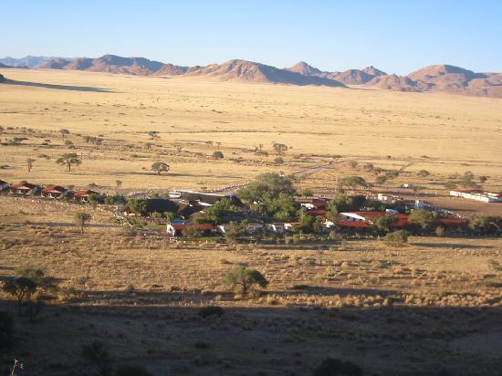 Namib Desert Lodge : Die Lodge von oben