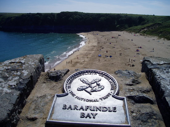 Stackpole, UK: Barafundle Bay