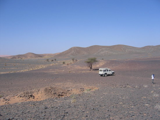 Merzouga, Marrocos: assou trip in black desert