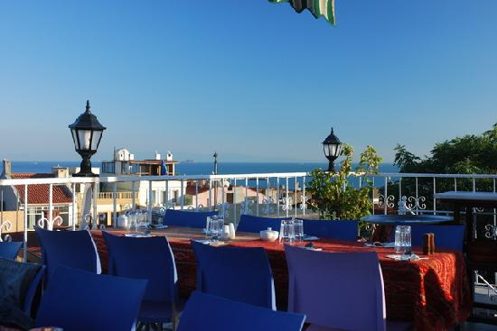 Hotel Mina: Blick vom Restaurant DoyDoy aufs Marmara-Meer