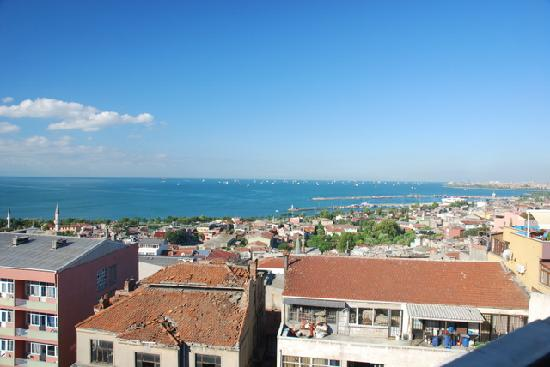 Hotel Mina : Blick vom Speisesaal uafs Marmarameer