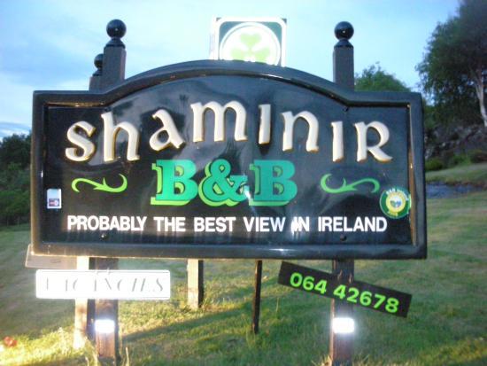 Shaminir B&B: Front sign