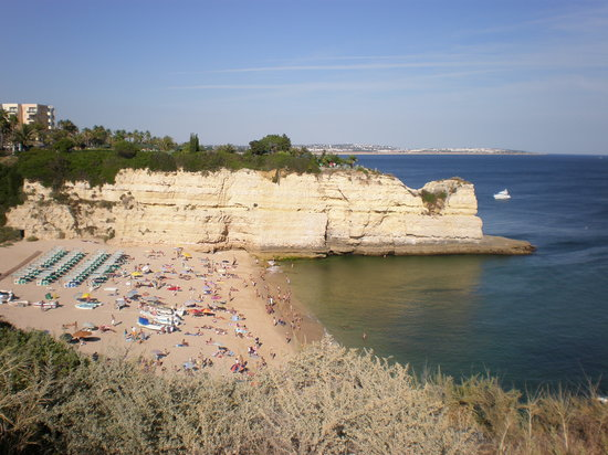 Be Smart Terrace Algarve: petite plage avec restaurant