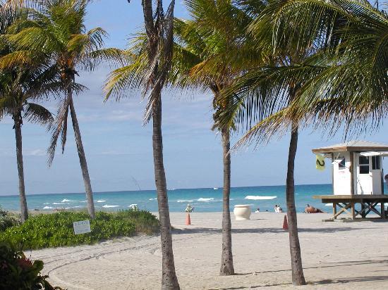 Manta Ray Inn: The beach