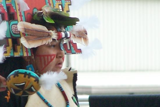 Harrah's Cherokee Casino Resort: Hopi Senom Dancer