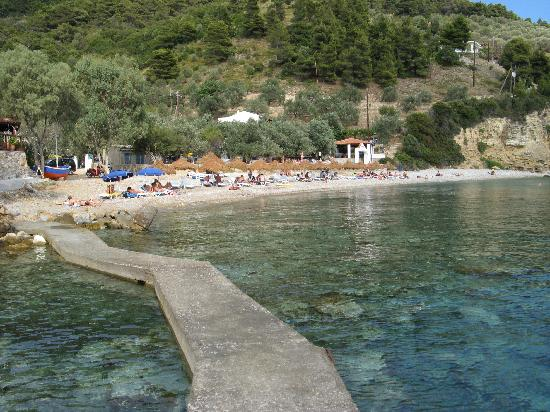 Sporades, Yunani: Mourtias beach