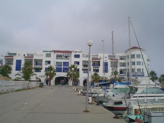 Hotel Dar Ismail: La banchina