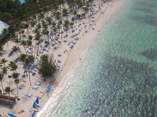 Grand Palladium Punta Cana Resort & Spa: A view from above