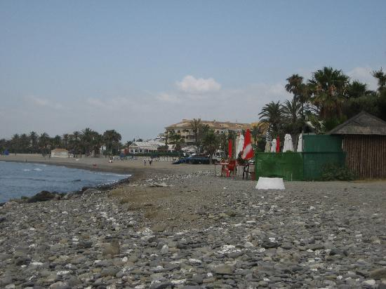 Globales Pueblo Andaluz: Local Beach