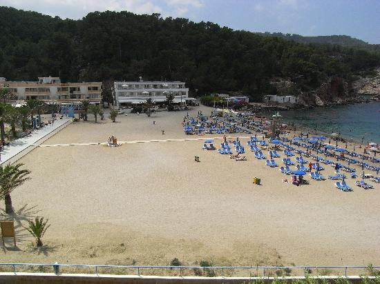 Port de Sant Miguel, İspanya: The beach