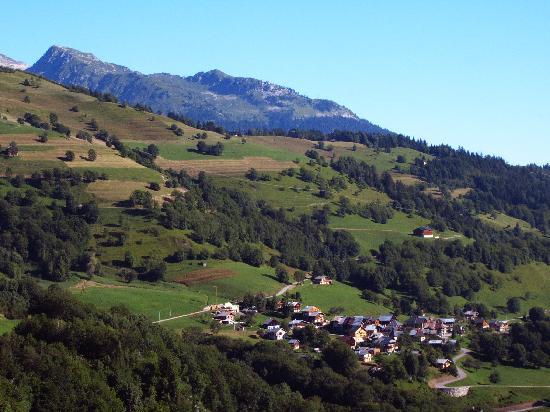 Valmorel, فرنسا: vue de la région
