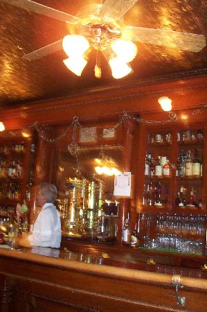 1859 Historic National Hotel: saloon bar