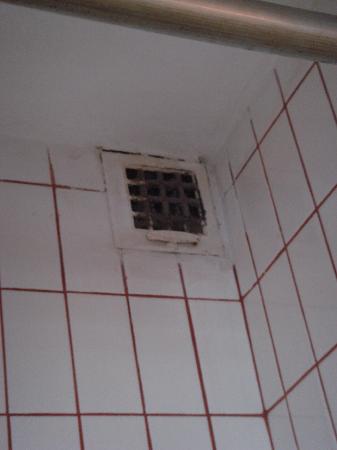 Hotel Aida: filtro de aire de la ducha