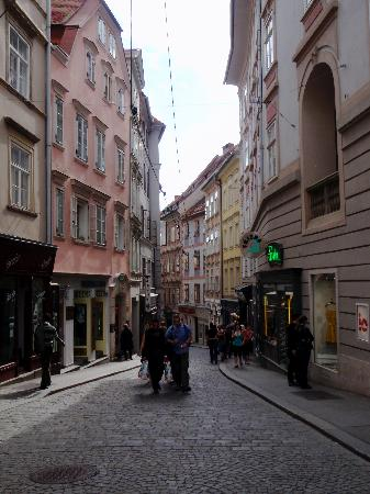 City street in Graz