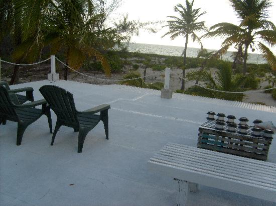 Andros Beach Club: view from sundeck