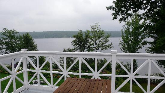 Manoir Hovey : balcony view
