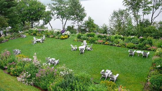 Manoir Hovey : garden