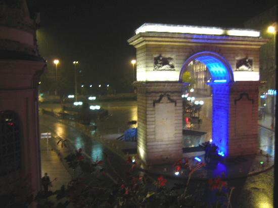 Quality Hotel du Nord Dijon Centre : The view from our window