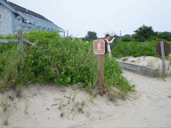 Fire Island, Nova York: bathrooms/showers
