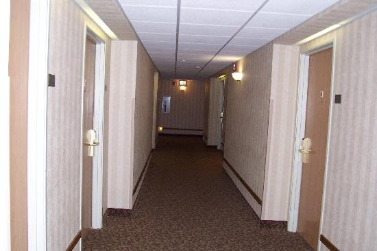 Comfort Suites Summit County: Hallway