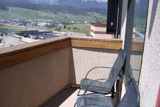 Comfort Suites Dillon: Balcony - Room 241