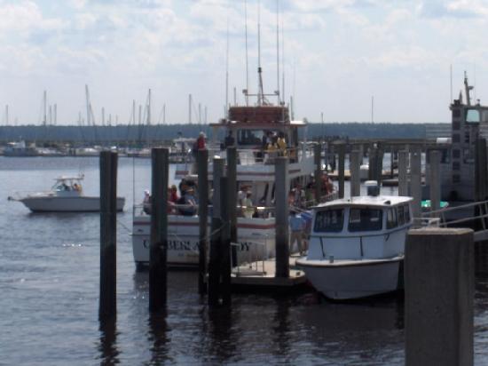 Riverview Hotel: Cumberland Island boat