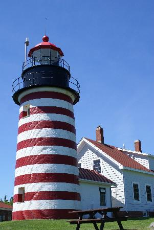 West Quoddy Head Station: West Quoddy Head Light House