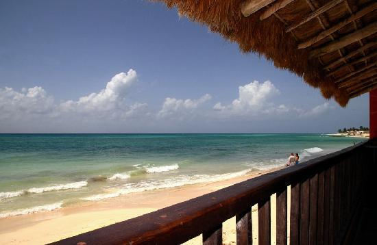 Iberostar Grand Hotel Paraiso: Playa del Carmen, vue du Segnor Frog's!
