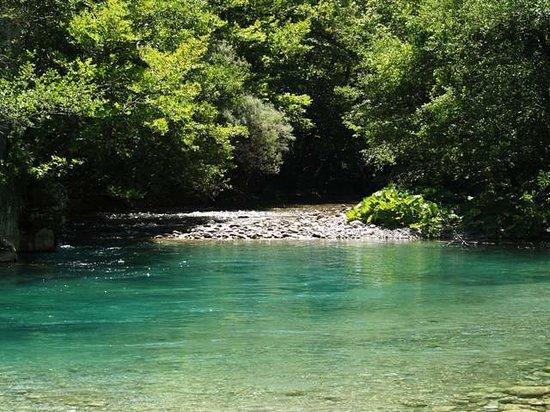 Aristi, Greece: river voidomatis2