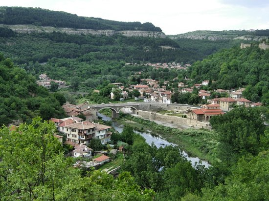 Veliko Tarnovo, Bulgaria: The view