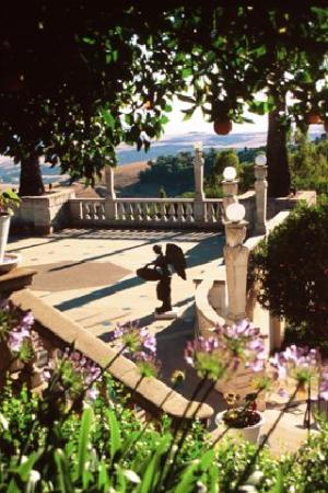 Hearst Castle offers Many Art treasures Indoors and Out