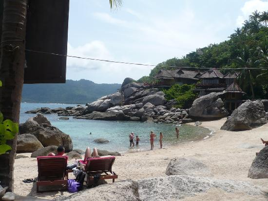 Charm Churee Villa: the private beach