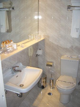 Titania Hotel: Bathroom