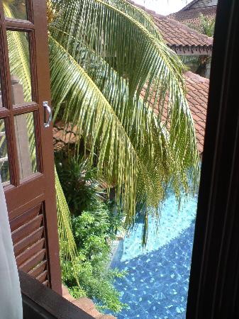 The Lanai Langkawi Beach Resort: the pool view from our room