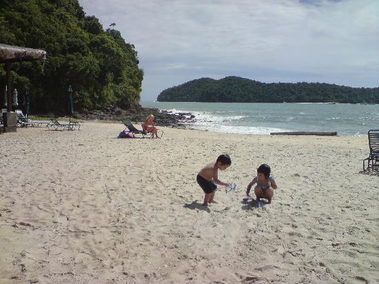 The Lanai Langkawi Beach Resort: the lovely beach...