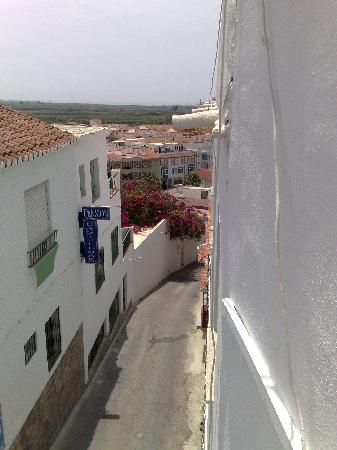 Pension Mari Carmen: View from the balcony