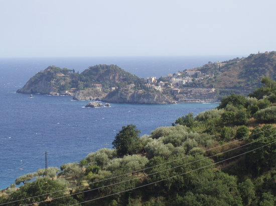 Letojanni, Italie : Bay view