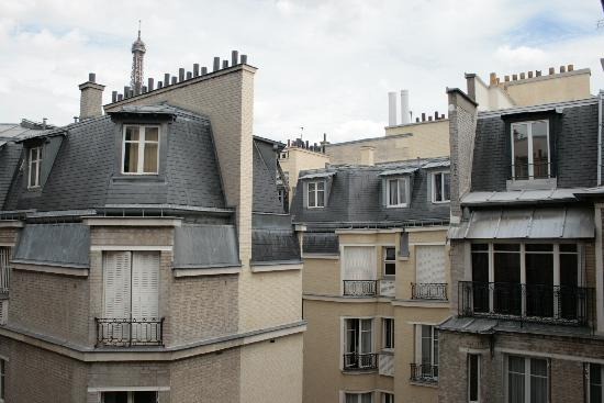 Hotel Sezz Paris: Vista ridicola dalla suite 69