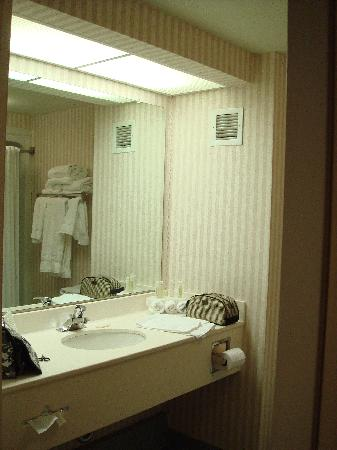 Holiday Inn Express Hotel & Suites: Bathroom with soft towels