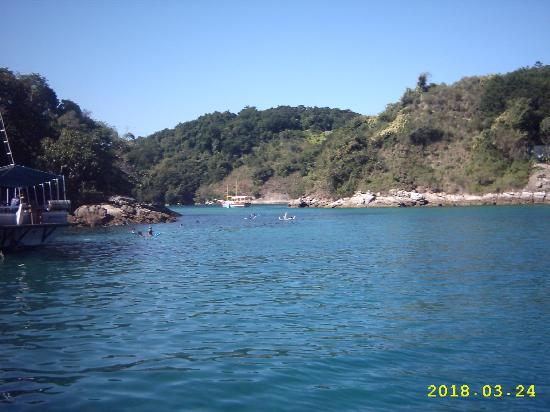 Илья-Гранд: excursion a la lagoa azul