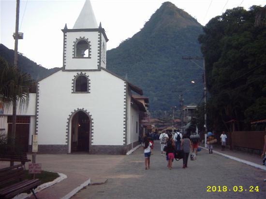 Илья-Гранд: iglesia en abrao, ilha grande